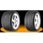 continental sportcontact 2 225/50 r17 98y