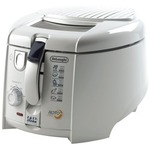 test delonghi f 28.311.w1 rotofritteuse mit easy clean system, 1800 watt