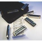 7er blues harmonica starter set