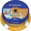 Verbatim DVD-R 4.7GB 16X Inkjet weiss 25er Spindel