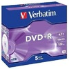 Verbatim DVD+R 4,7GB 16x Jewelcase 5er Pack