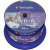 Verbatim DVD+R 4.7GB 16X Inkjet white 50er Spindel