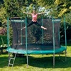 Hudora Trampolin 426 cm mit Sicherheitsnetz