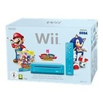 nintendo wii konsole - mario kart pack horizontal, schwarz (wii) (2101790)