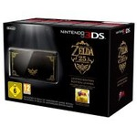 nintendo 3ds, schwarz the legend of zelda: ocarina of time 3d