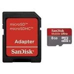 Sandisk SDHC 8GB Ultra UHS1