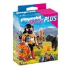 Playmobil Barbar mit Hund am Lagerfeuer (4769)