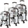 d &amp; n Lederwaren Scion Travel Line 9100 4-Rollen Trolley Set 3-tlg.