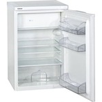 bomann ks 197 kühlschrank / a / 137 kwh/jahr / 104 l kühlteil / 14 l gefrierteil / weiß