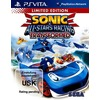Sega Sonic All-Stars Racing Transformed Limited Edition (PSV)