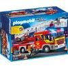 Playmobil Feuerwehr-Leiterfahrzeug mit Licht und Sound (5362)