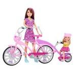 Barbie Schwestern Fahrrad