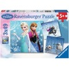 Ravensburger Disney Frozen - Abenteuer im Winterland (3x49 Teile)