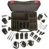 Alinco PMR DJ-A46-E Koffer-3er-Set mit Lautsprechermikrofone (3389)