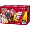 Nintendo 2DS Transparent Rot inkl. Pokemon Omega Rubin