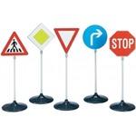 Klein Verkehrszeichen-Set 5-teilig