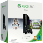 Microsoft Xbox 360 Skittles Spring Value Bundle 500GB HDD + Fable Anniversary + PvZ Garden Warfare