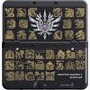 Nintendo New 3DS Zierblende Monster Hunter 4U schwarz
