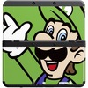 Nintendo New 3DS Zierblende 002 Luigi
