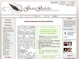 Gratis-Gedicht.de - Diverse Texte zu jedem Anlass