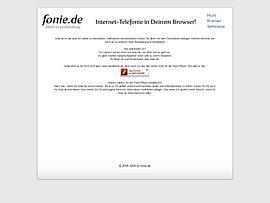 Fonie.de - Fonieren ohne Schnickschnack