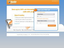 Jaxtr - Günstig telefonieren und Gratis-SMS versenden