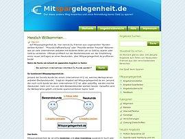 Mitspargelegenheit.de - Gemeinsam auf Sparkurs