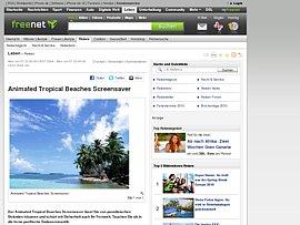 Karibik auf den Bildschirm