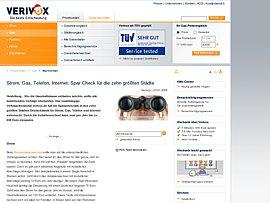 Verivox Sparcheck: Strom, Gas, Telefon und Internet