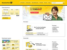 Post - Briefmarken per Handy ordern