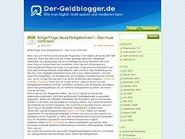Der-Geldblogger.de -  Geld sparen und verdienen