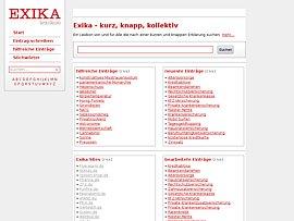 Exika - Wissen in Kurzform von Usern mit erstellt