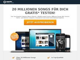 Musik Flatrate: Napster eine Woche kostenlos testen