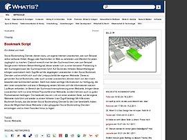 Bookmark Script gratis für Eure Homepage