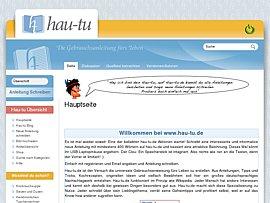 Hau-tu - Gebrauchsanleitung fürs Leben