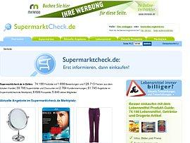 SupermarktCheck.de - Clever sparen beim alltäglichen Einkauf