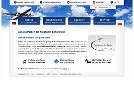 Preiswert am Flughafen Berlin Schönefeld (BBI) parken