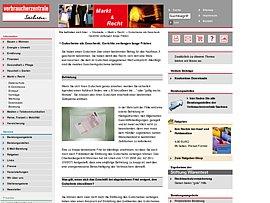 Gutscheine als Geschenk - Verbraucherzentrale Sachsen informiert