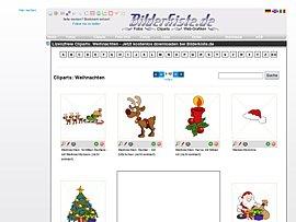 Cliparts: Zahlreiche Weihnachtsgrafiken gratis herunterladen
