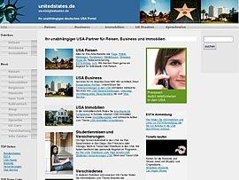 Kostenloses Portal: USA  - Infos, Reisen, Shopping