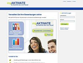 myAktivate – Kostenloser Service zur Verwaltung von Bewerbungen