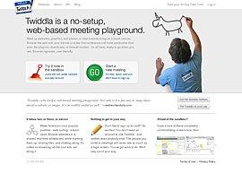 Twiddla ermöglicht Online-Konferenzen mit Chat und Whiteboard