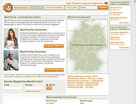 Professoren bewerten beim Bewertungsportal MeinProf.de