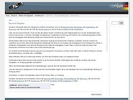 Baurecht-Ratgeber - Infos mit Suchservice