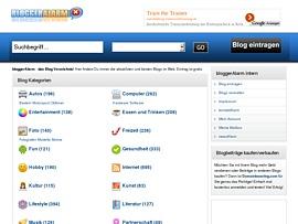 Blog Verzeichnis - BloggerAlarm