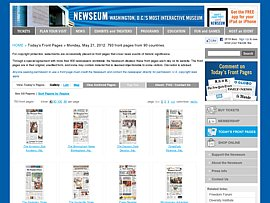 Titelseiten vieler Tageszeitungen als PDF-Dokument