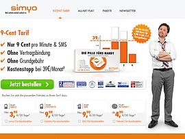 simyo - Beim Starterpaket sparen
