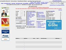 Versandrechner.de - Portorechner  für den Paketversand