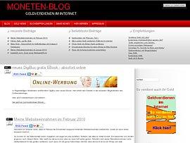Moneten-Blog - Tipps und Tricks zum Geld verdienen im Internet