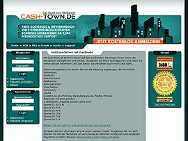 Cash-Town - Geld verdienen mit Bonusprogramm